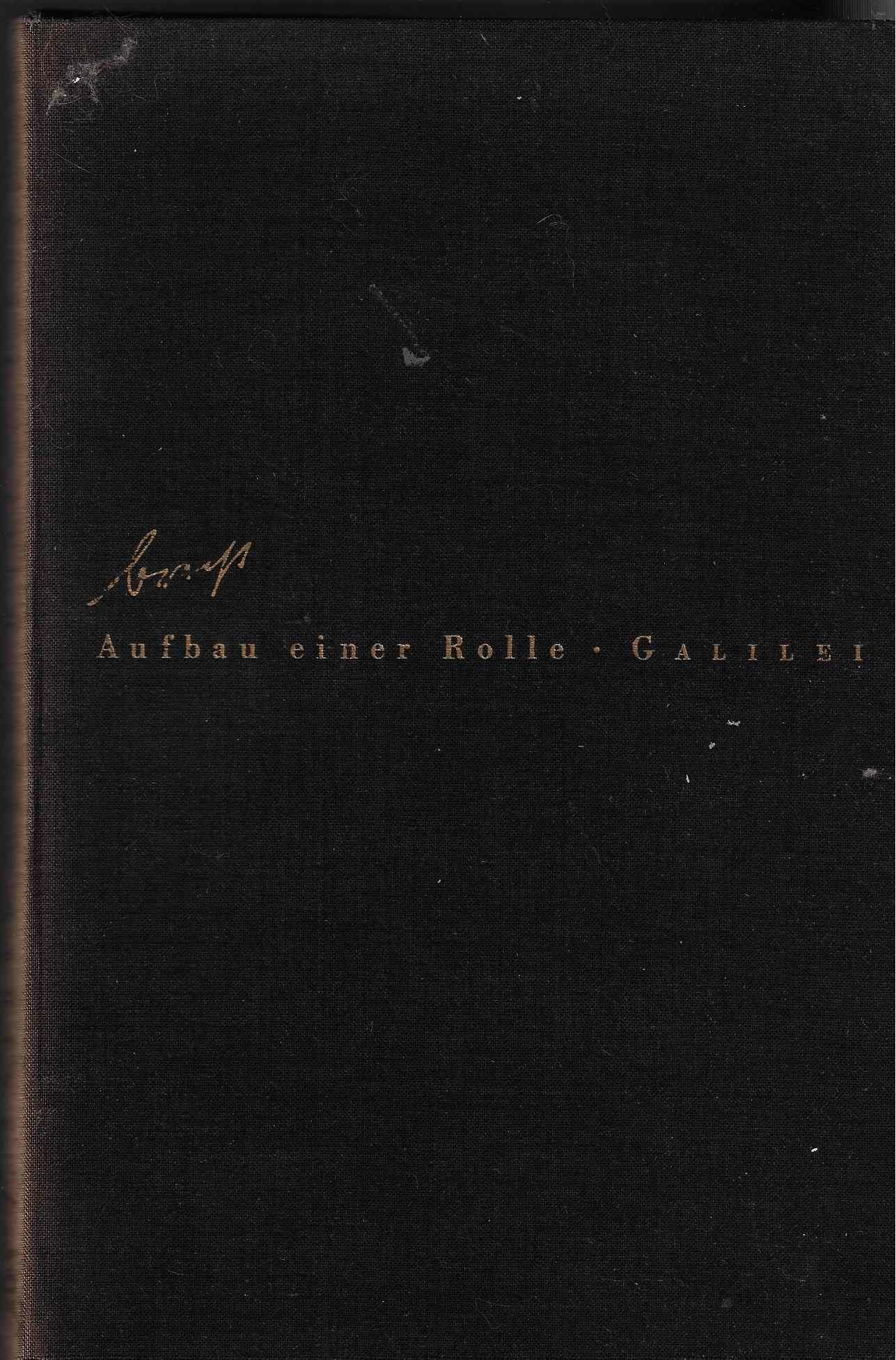 Image for Aufbau einer Rolle  Buschs Galilei. With portraits