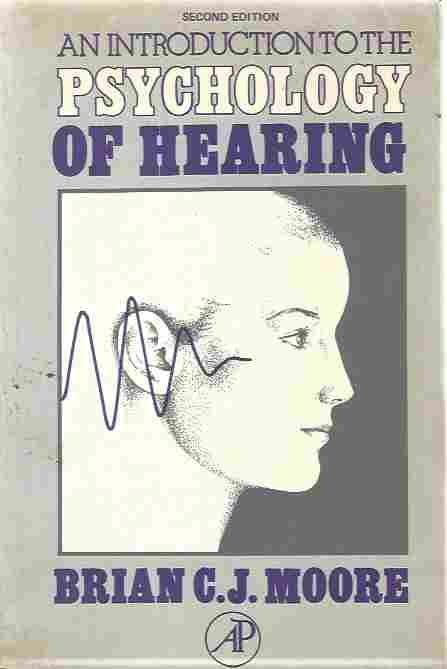 Image for Introduction to the Psychology of Hearing
