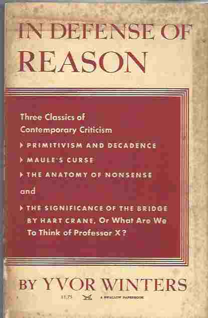 Image for In Defense of Reason