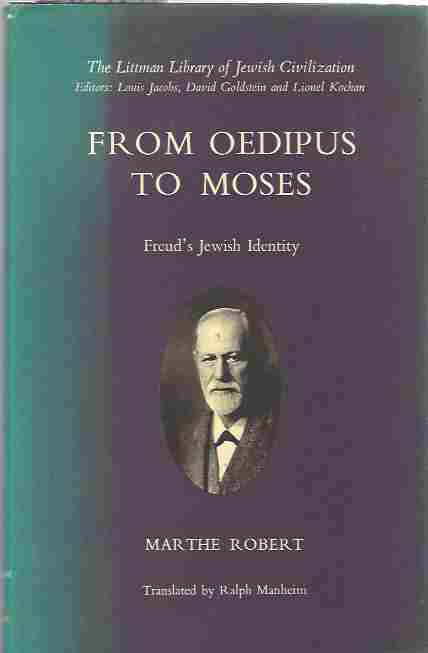 Image for From Oedipus to Moses  Freud's Jewish Identity