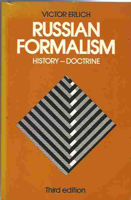 Image for Russian Formalism  History - Doctrine