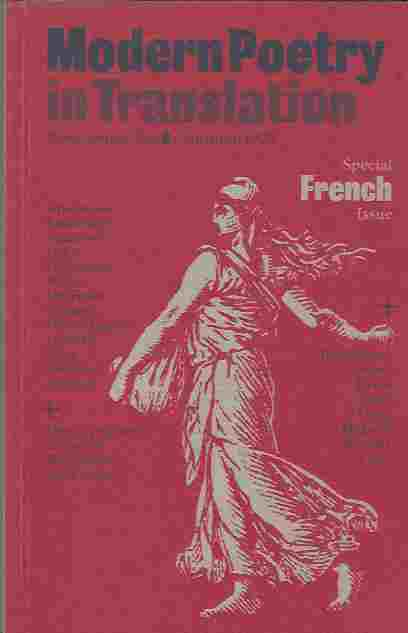 Image for Modern Poetry in Translation  New Series No.8 Autumn 1995 Special French Issue