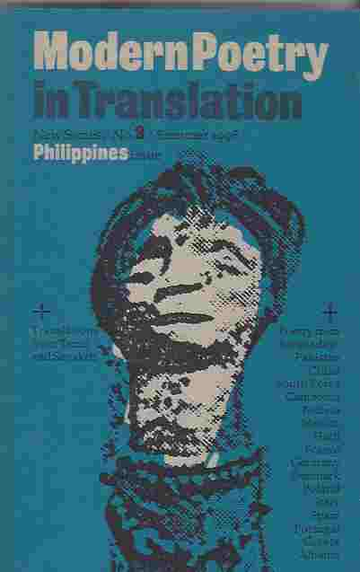 Image for Modern Poetry in Translation : New Series No. 9, Summer 1996. Philippines Issue
