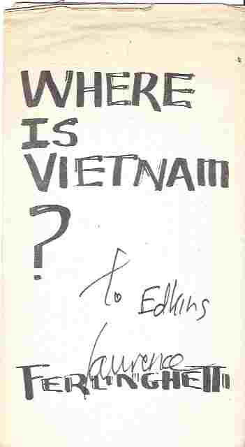 Image for Where Is Vietnam? Broadside
