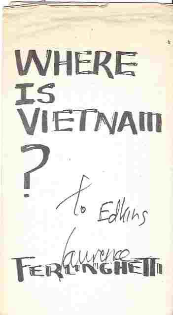 Where Is Vietnam? Broadside