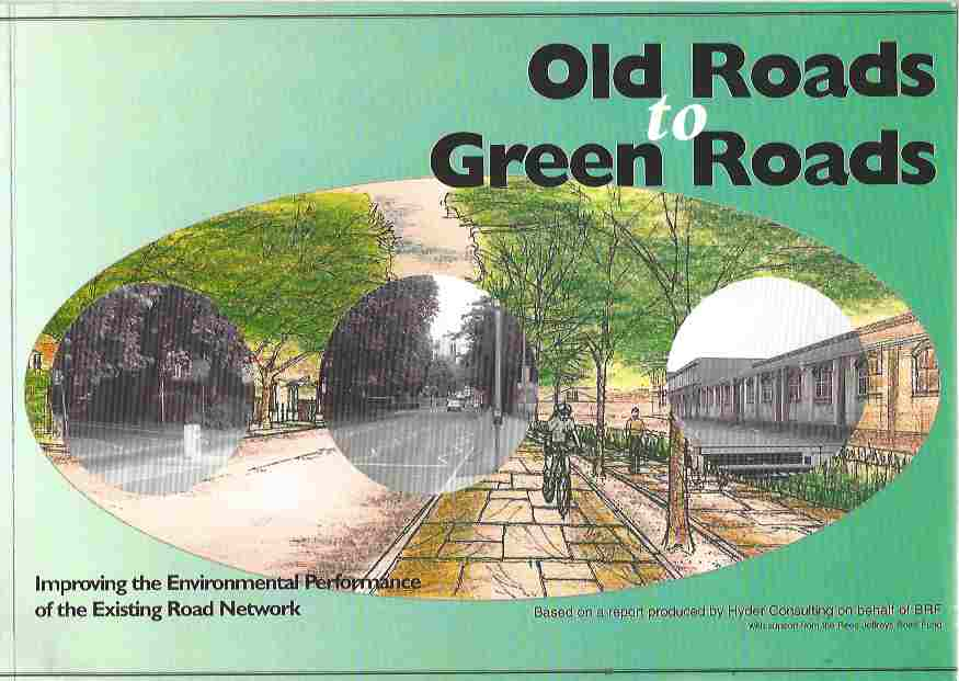 Image for Old Roads to Green Roads