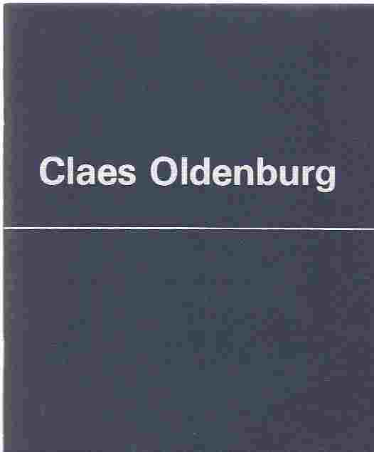 Image for Claes Oldenburg  An Exhibition of Recent Erotic Fantasy Drawings