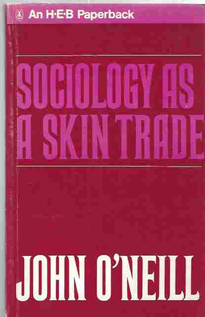 Image for Sociology as a Skin Trade