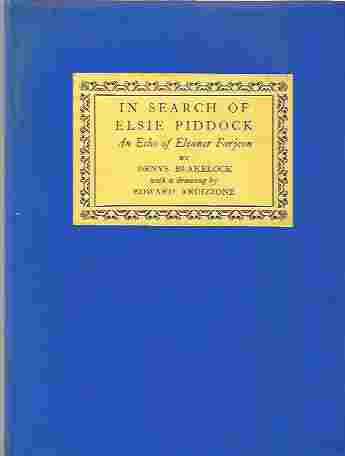 Image for In Search of Elsie Piddock An Echo of Eleanor Farjeon