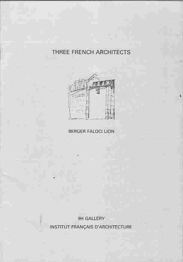 Image for Three French Architects