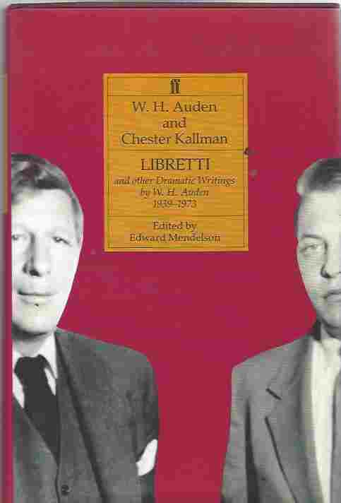 Image for The Complete Works of W. H. Auden Libretti