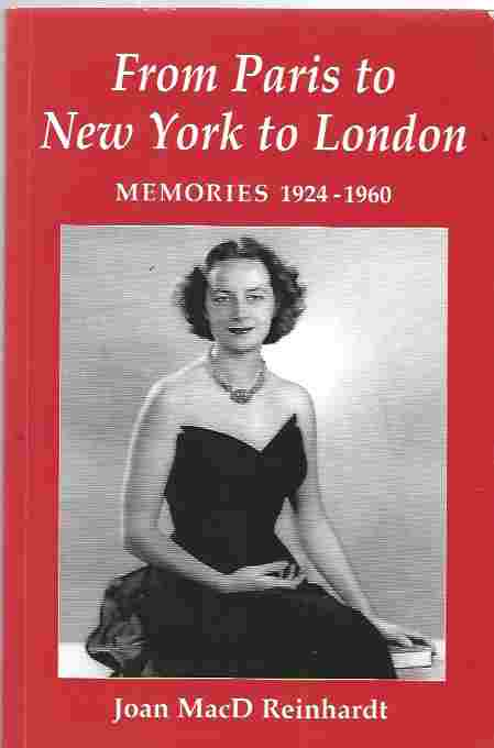 Image for From Paris to New York to London Memories 1924-1960