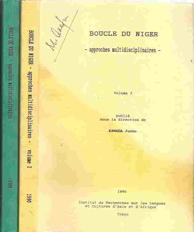 Image for Boucle du Niger : Approches Multidisciplinaires. Volumes 1 and 2