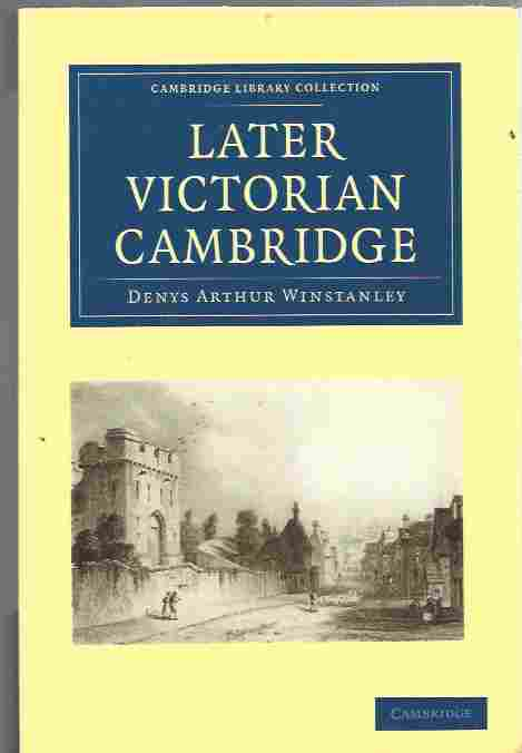 Image for Later Victorian Cambridge