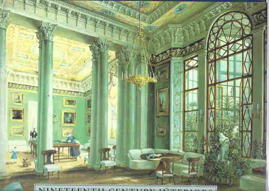 Image for Nineteenth-Century Interiors An Album of Watercolours