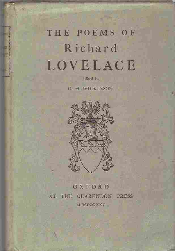 Image for The Poems of Richard Lovelace [2 volumes]