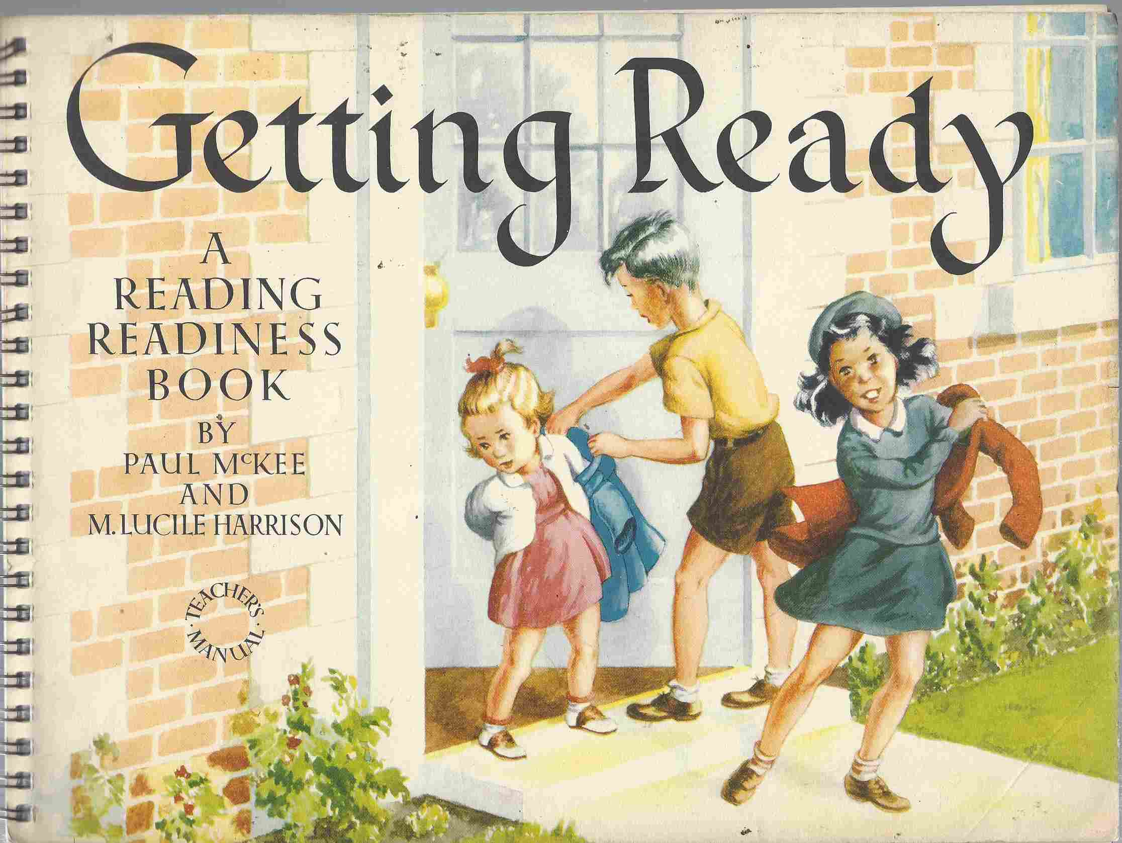 Image for Getting Ready A Reading Readiness Workbook