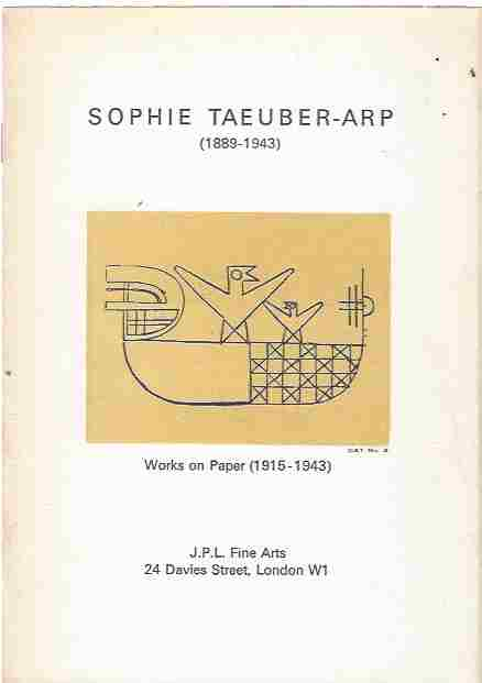 Image for Sophie Taeuber-Arp