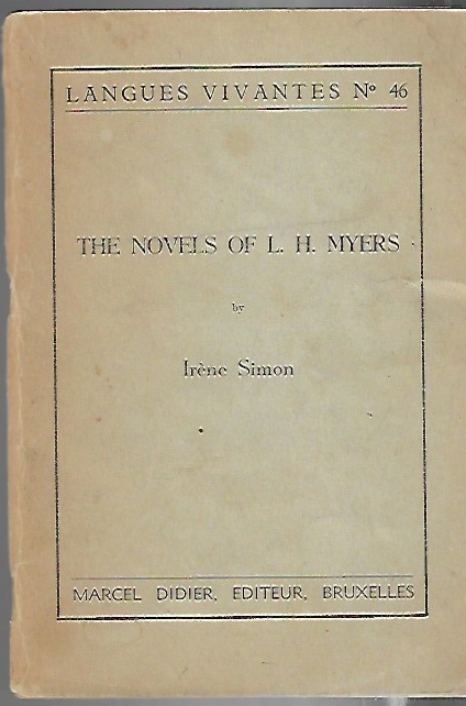 Image for The Novels of L.H. Myers