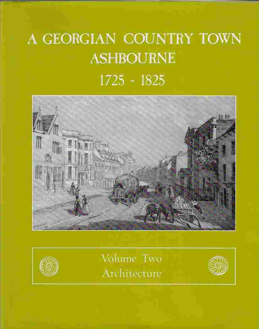 Image for Georgian Country Town Architecture V. 2: Ashbourne, 1725-1825