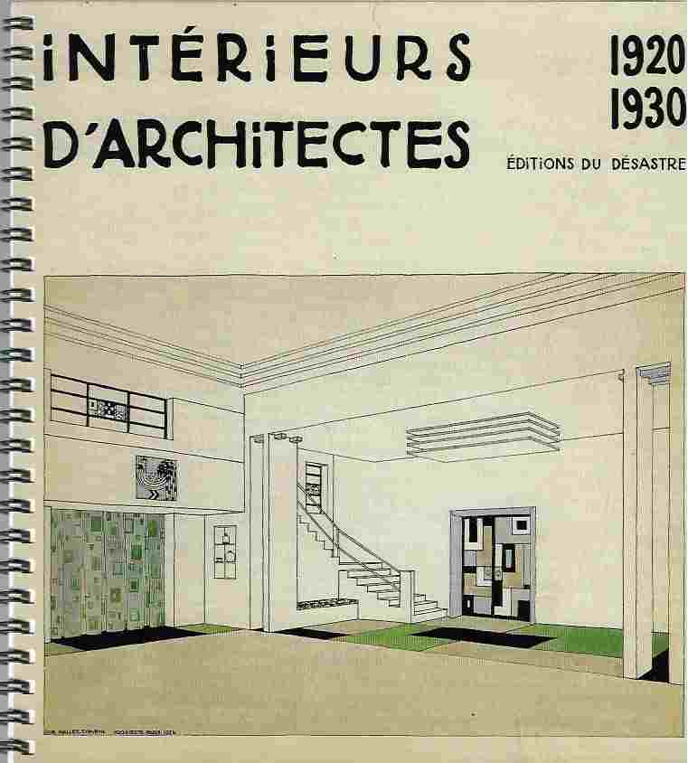 Image for Interieurs D'Architectes, 1920-1930