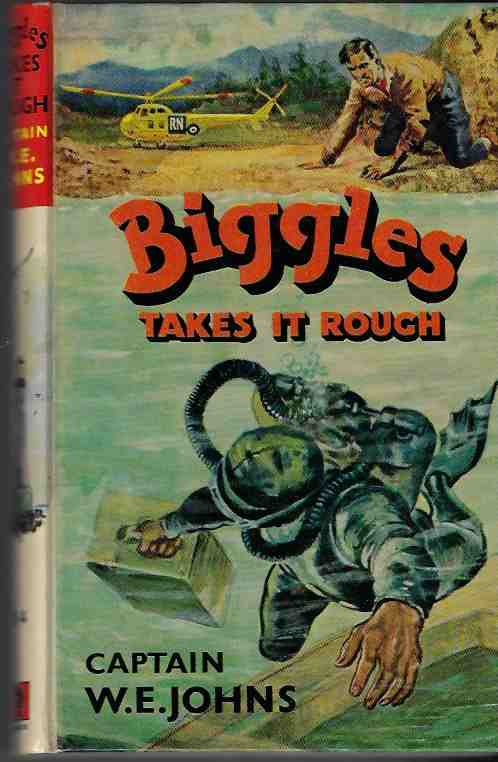 Image for Biggles Takes it Rough