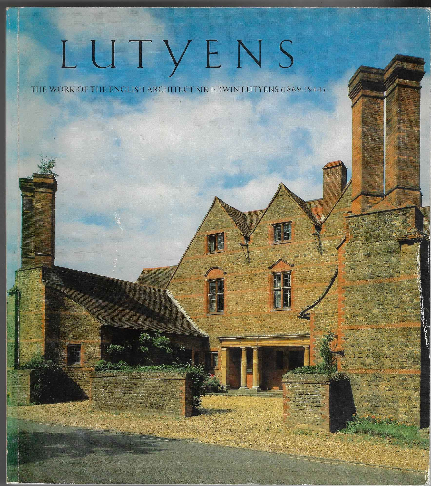 Image for Lutyens. The Work of the English Architect Sir Edwin Lutyens