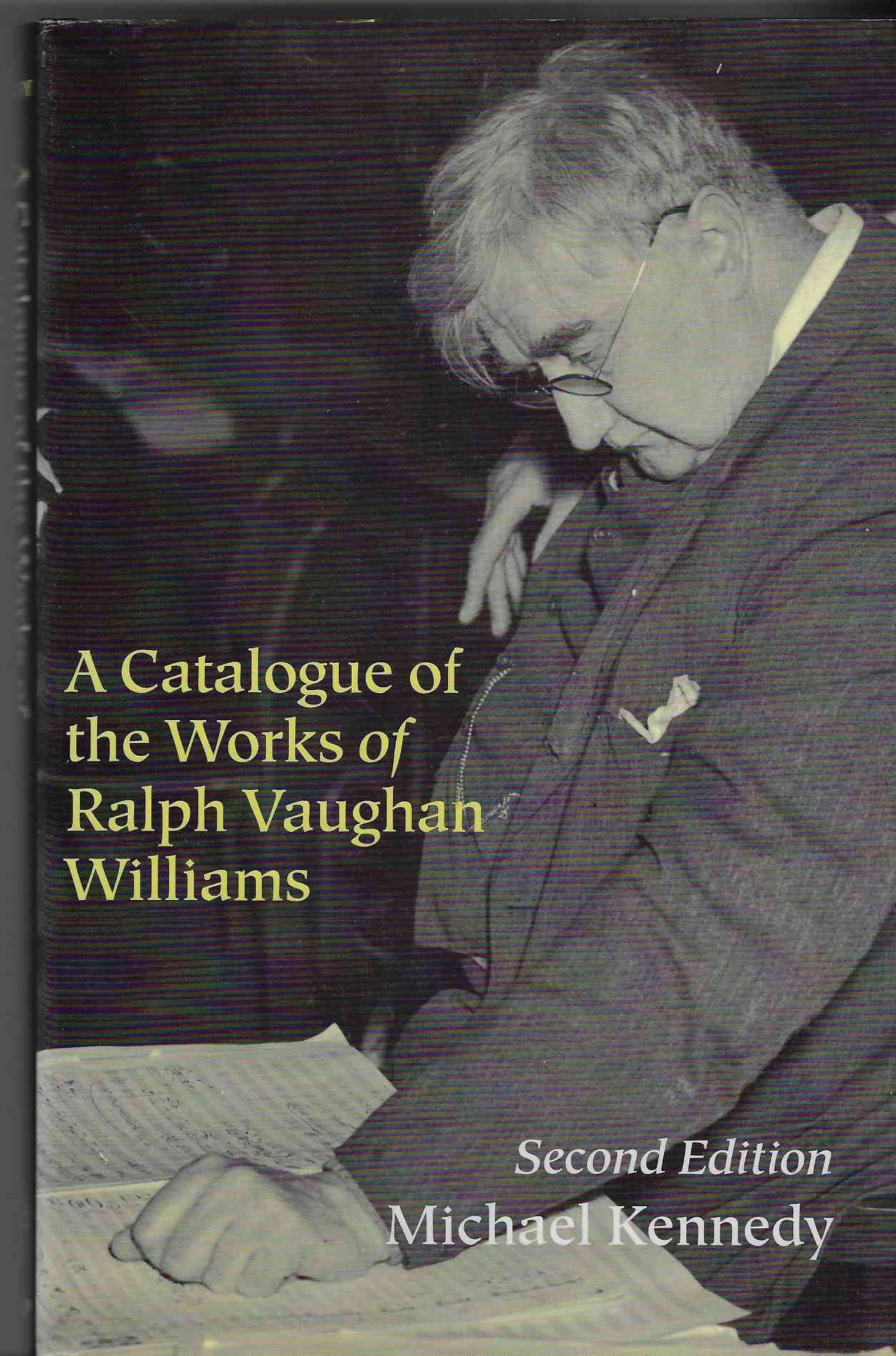 Image for A Catalogue of the Works of Ralph Vaughan Williams