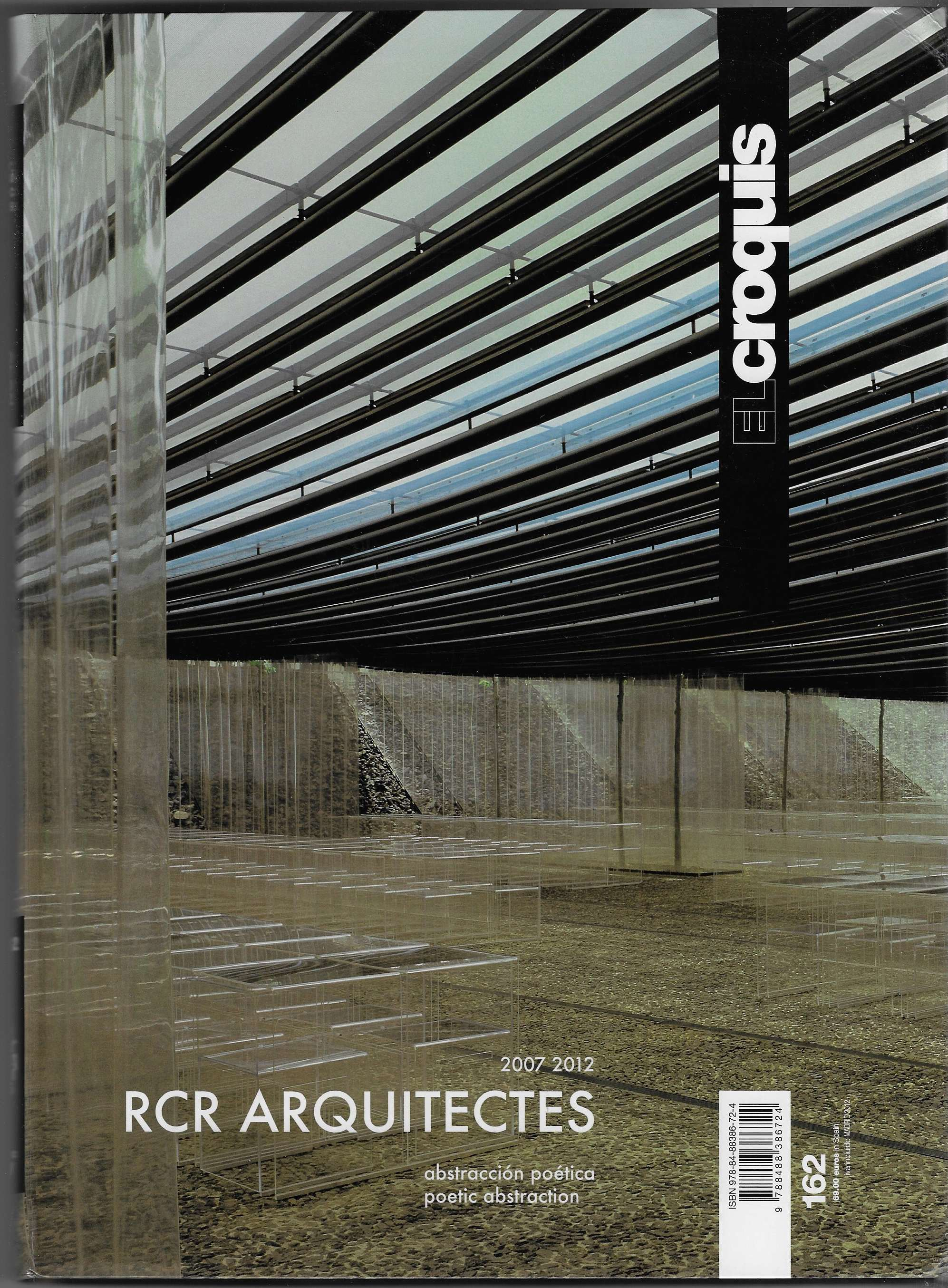 Image for El Croquis 162 - RCR Arquitectes 2007-2012. Poetic Abstraction