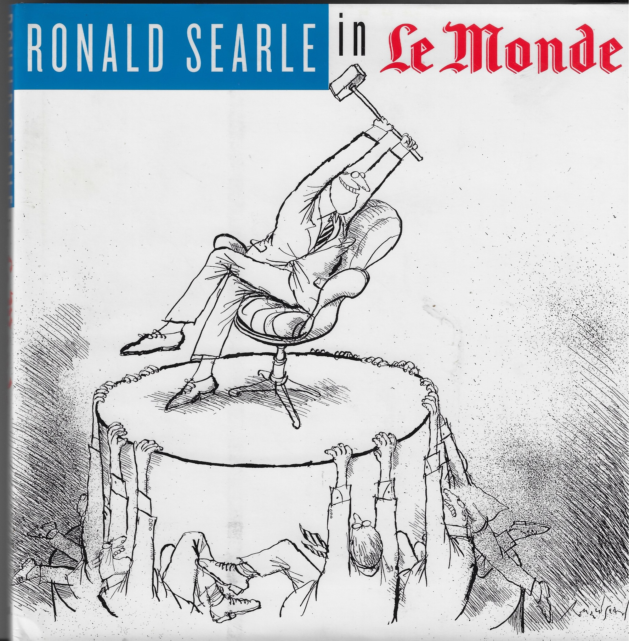 "Image for Ronald Searle in ""Le Monde"""