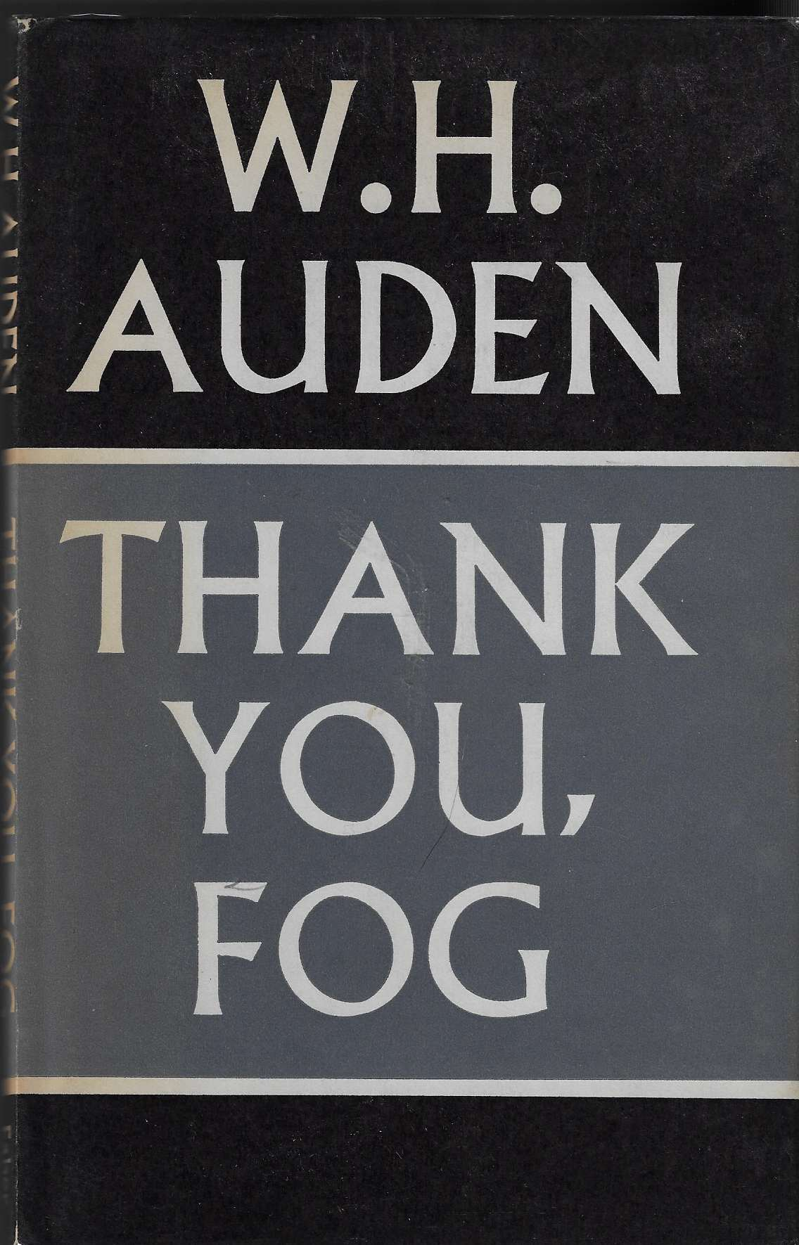 Image for Thank You, Fog Last Poems