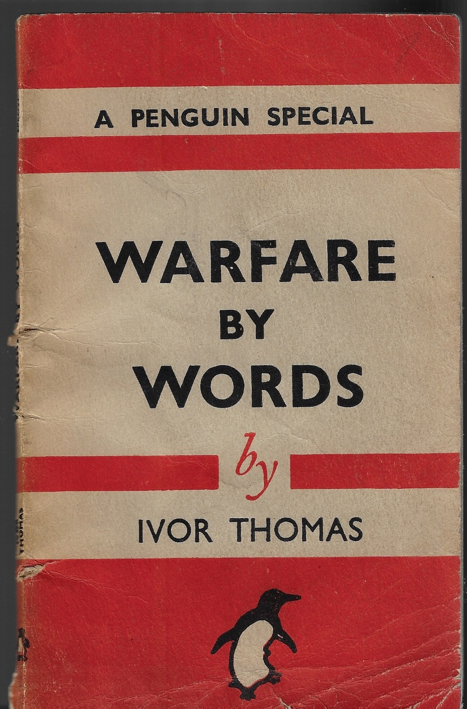 Image for Warfare by Words - a Penguin Special