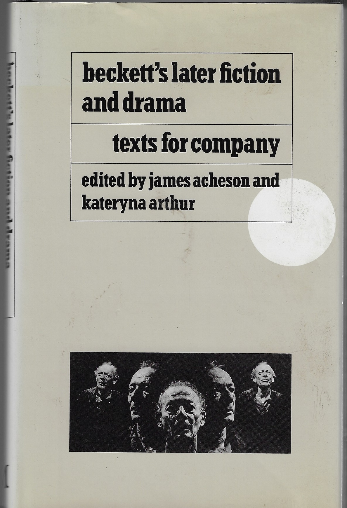 Image for Beckett's Later Fiction and Drama Texts for Company