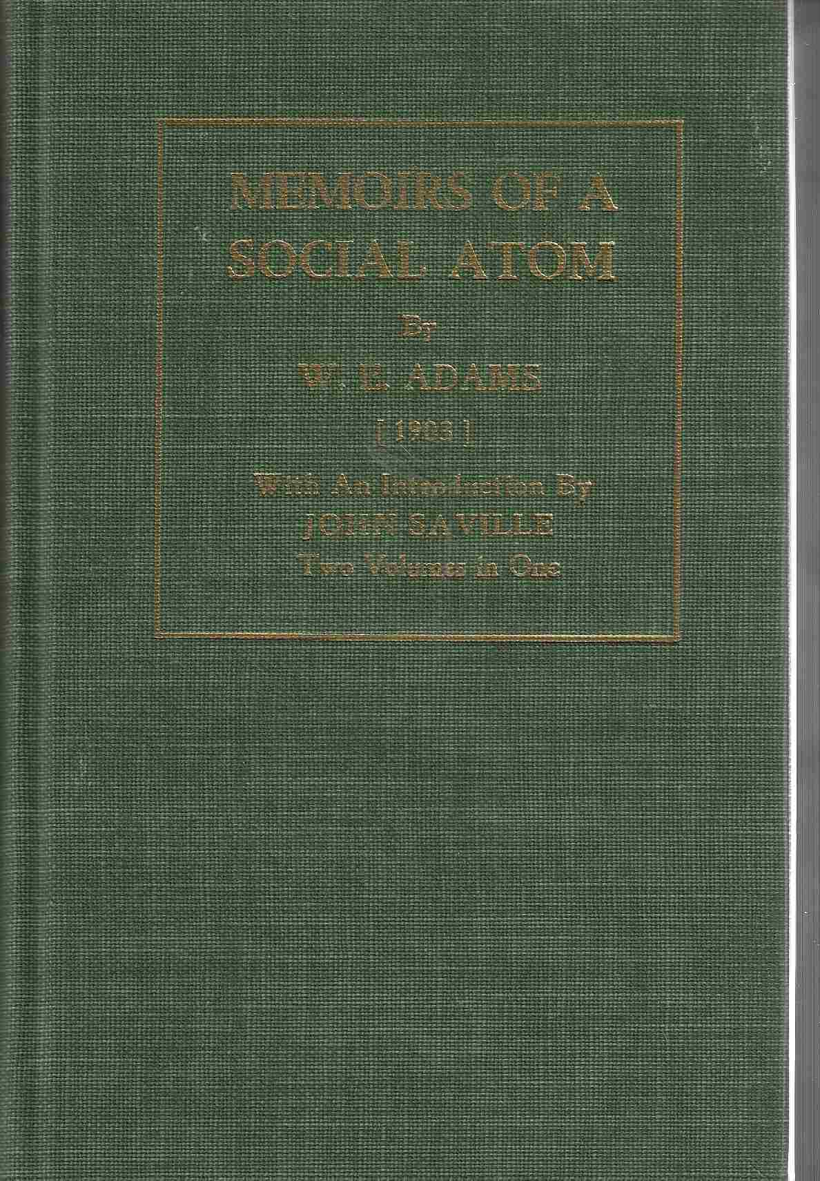 Image for Memoirs of a Social Atom