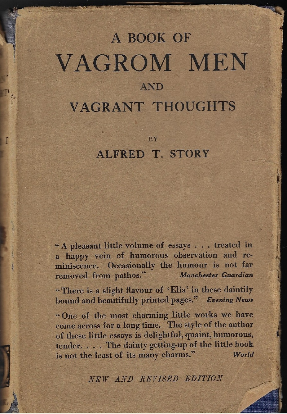 Image for Vagrom Men and Vagrant Thoughts