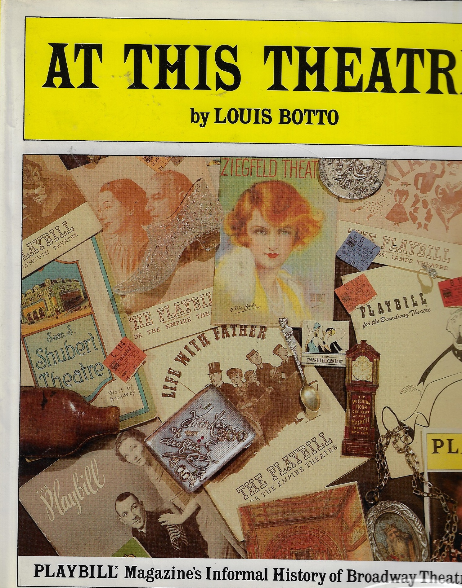 Image for At This Theatre An Informal History of New York's Legitimate Theatres