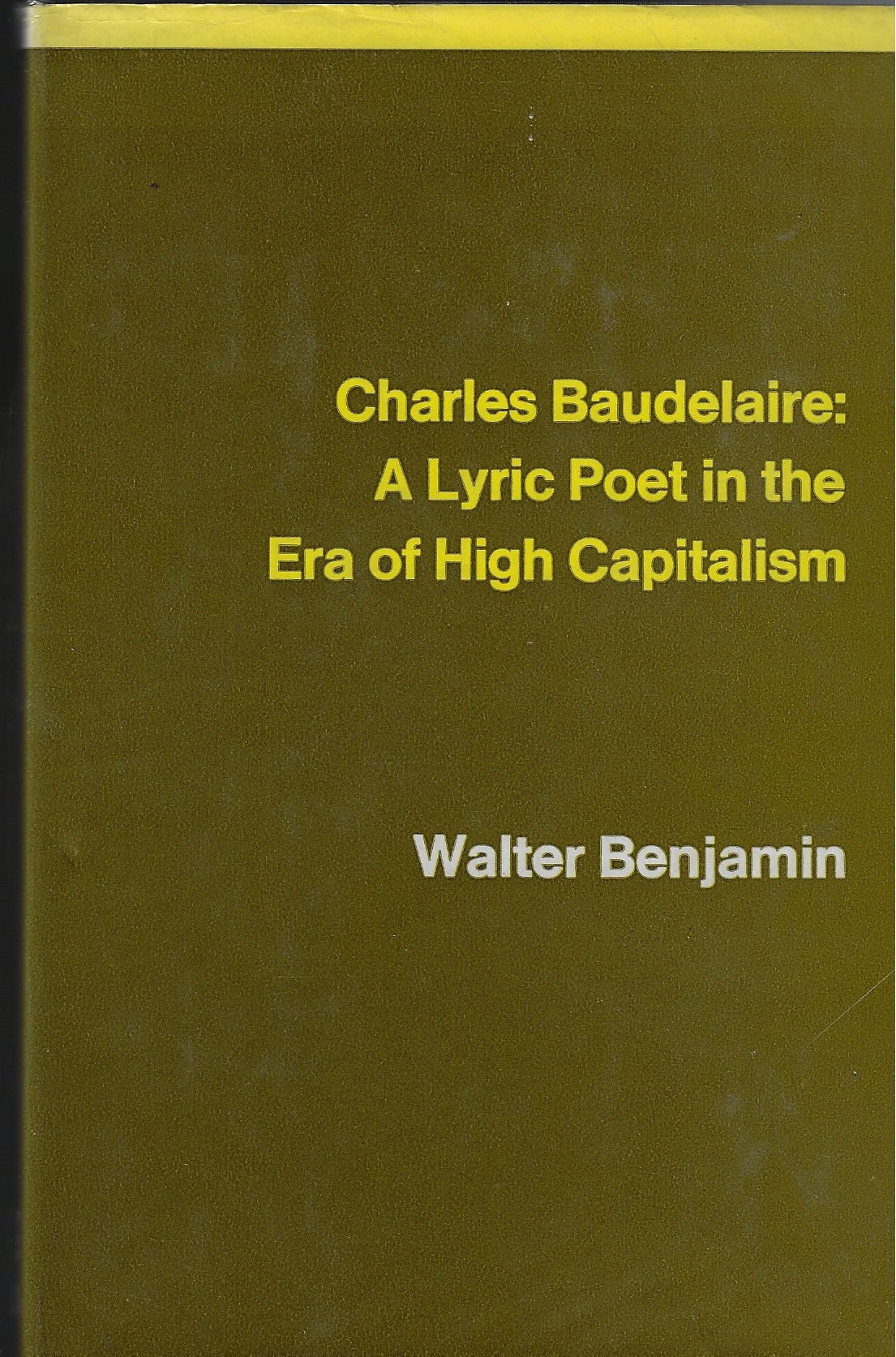Image for Charles Baudelaire A Lyric Poet in the Era of High Capitalism