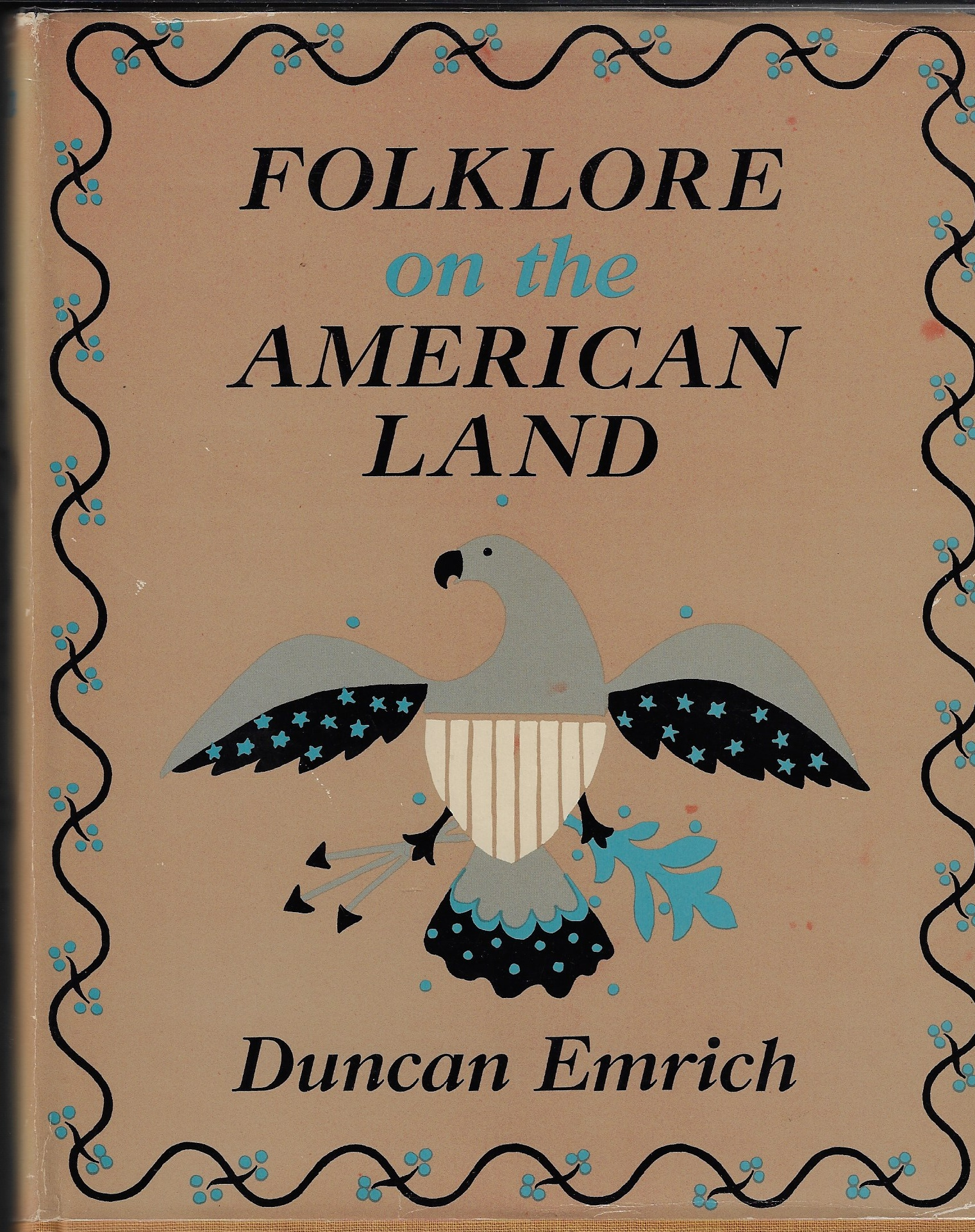 Image for Folklore on the America Land