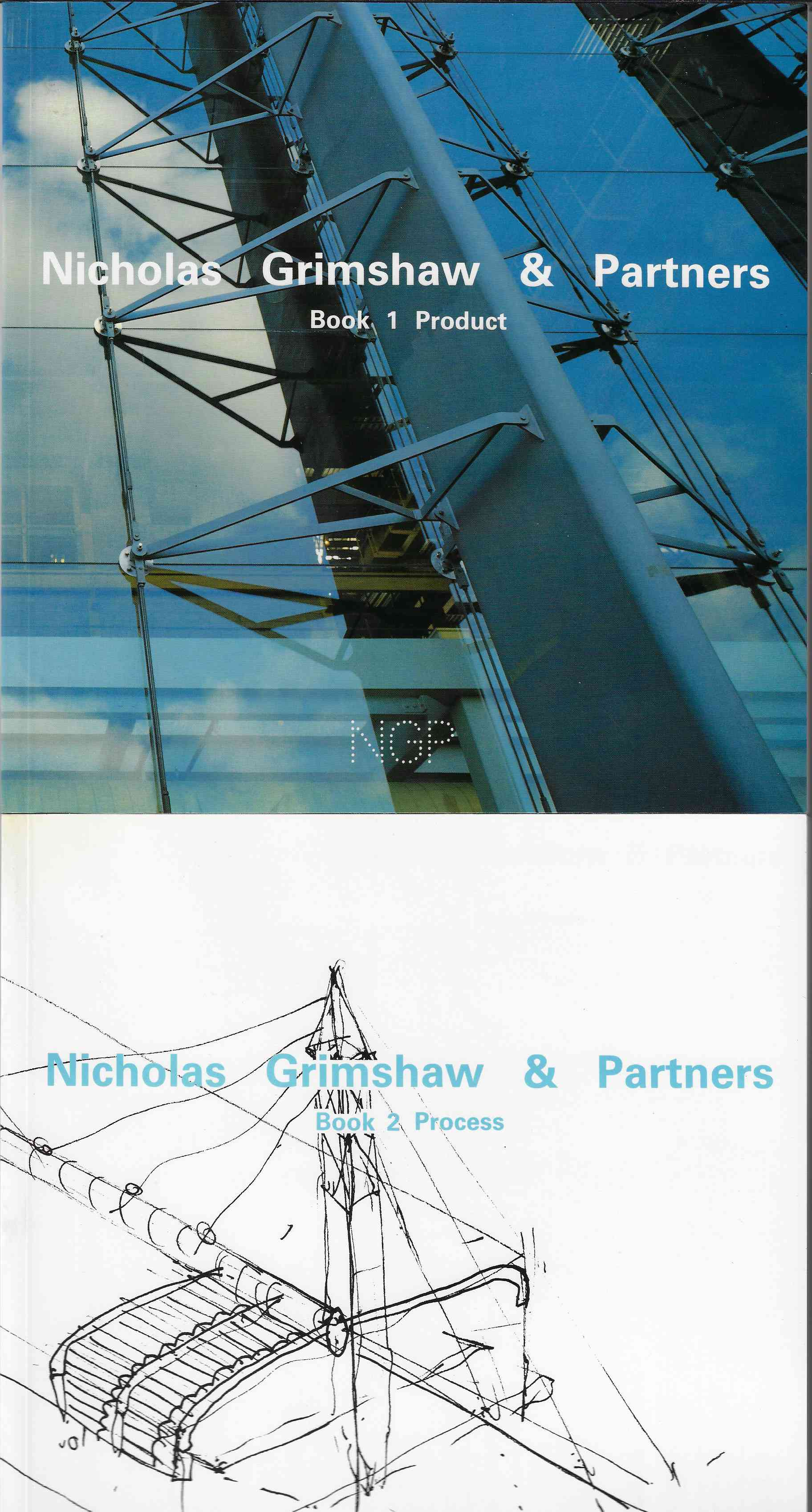 Image for Nicholas Grimshaw & Partners [signed] Book 1 Product and Book 2 Process