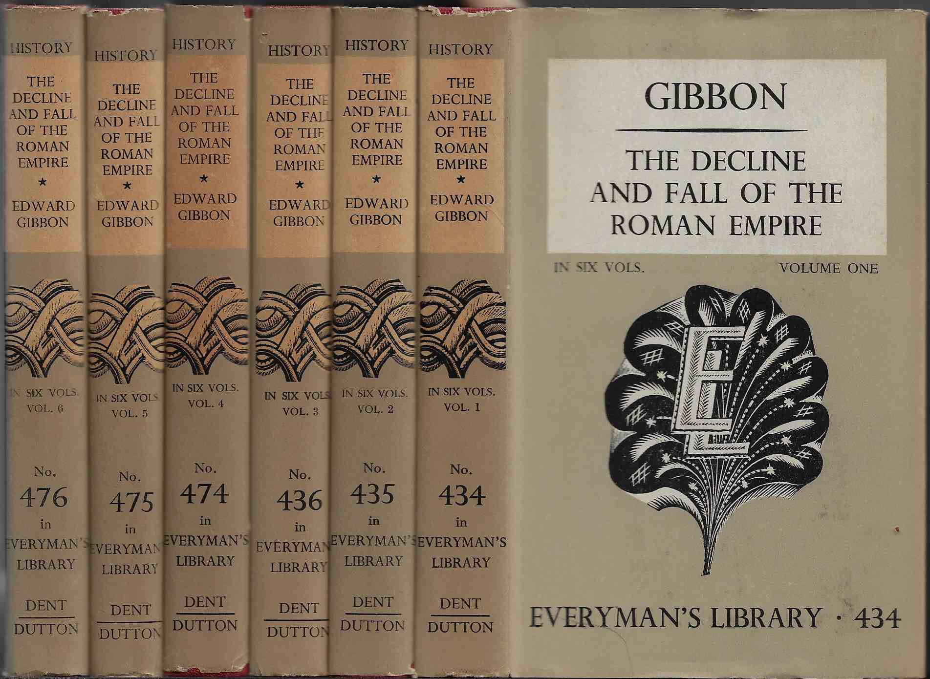 Image for The Decline and Fall of the Roman Empire In Six Vols.