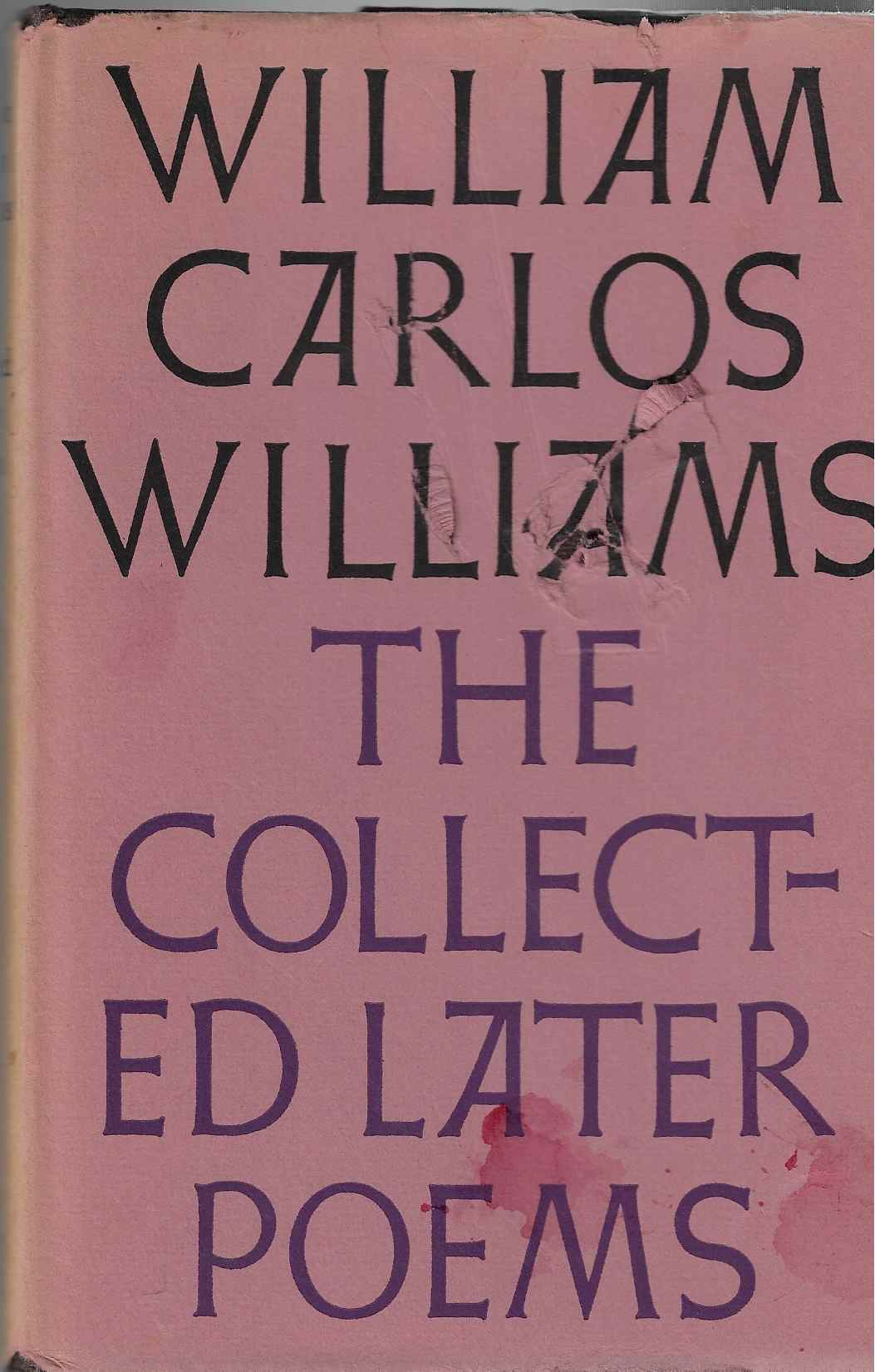 Image for THE COLLECTED LATER POEMS of WILLIAM CARLOS WILLIAMS
