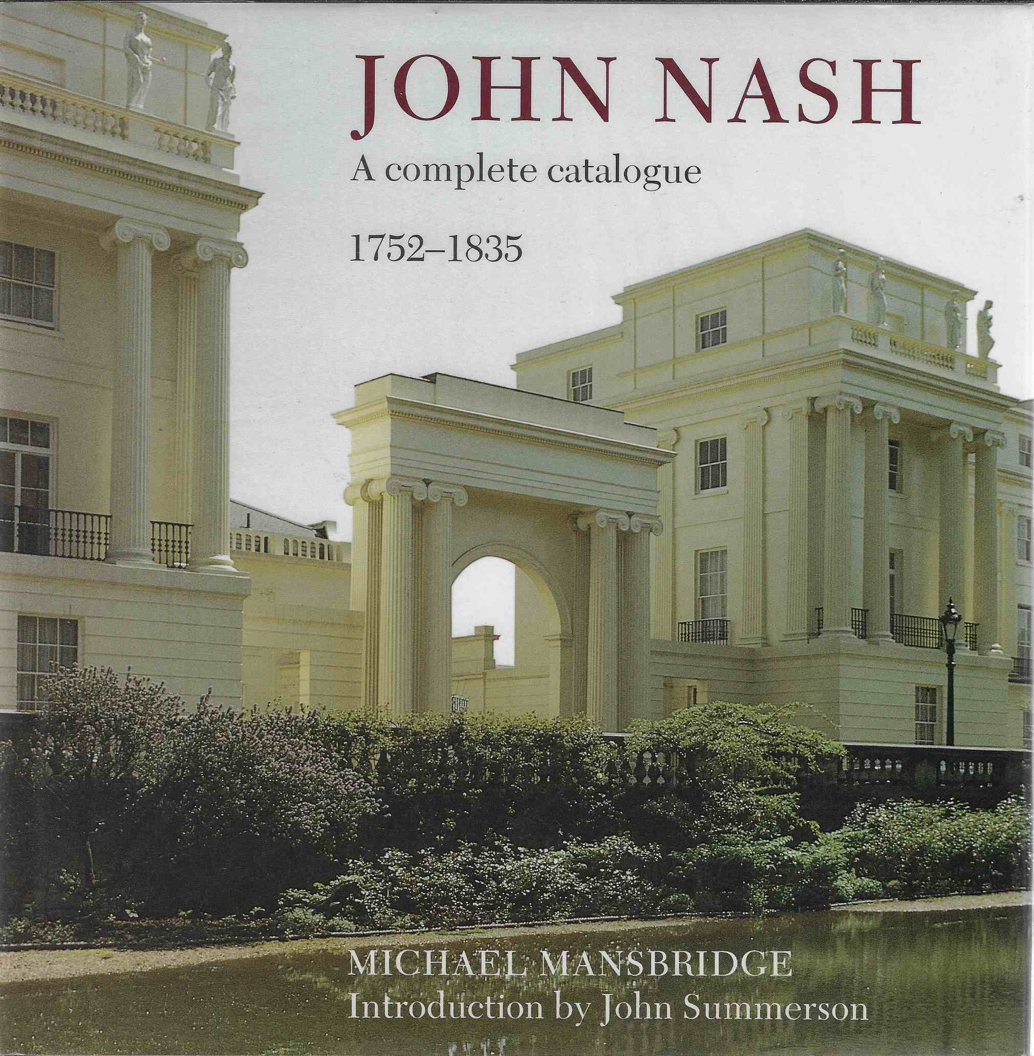 Image for John Nash A Complete Catalogue
