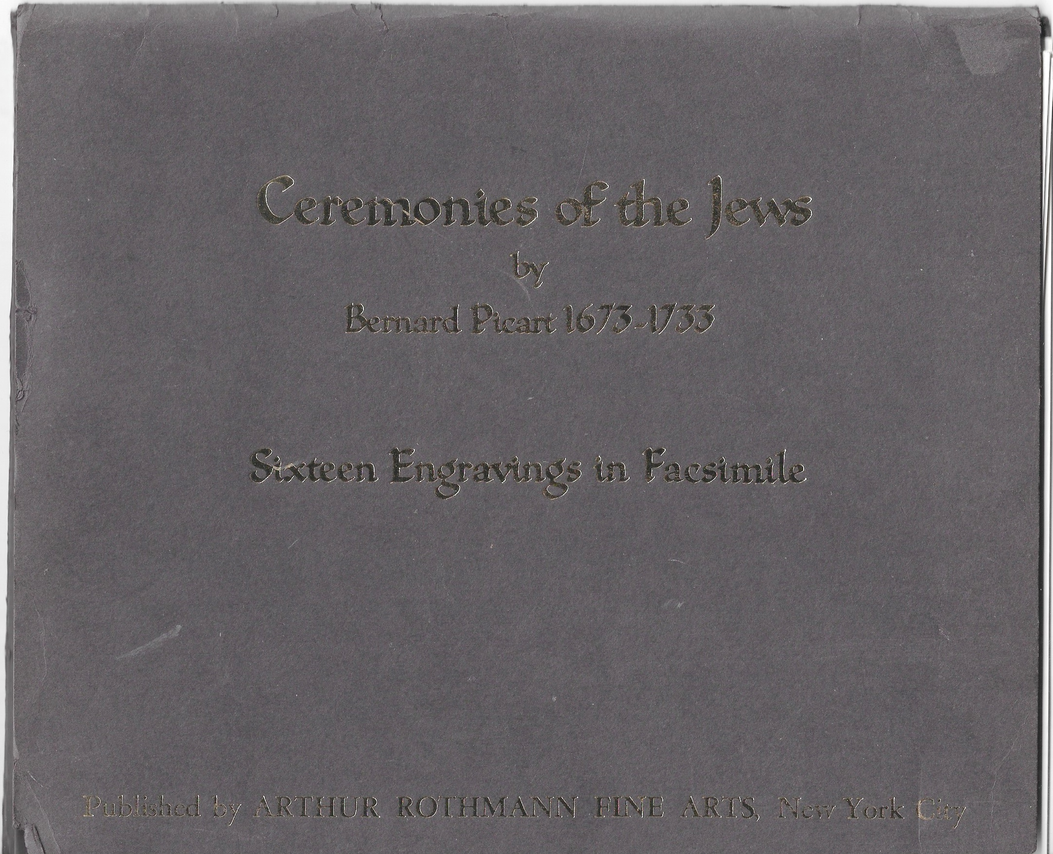 Image for Ceremonies of the Jews