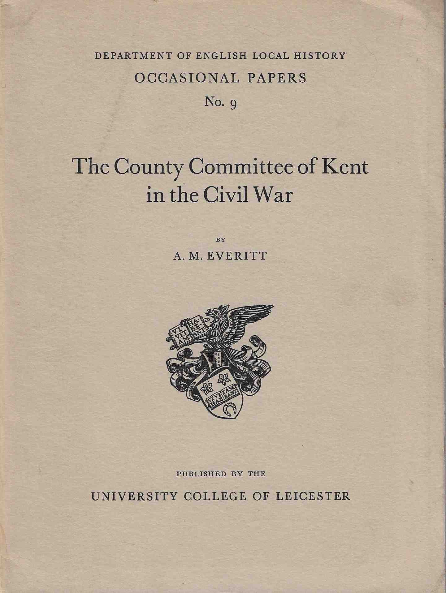 Image for The County Committee of Kent in the Civil War