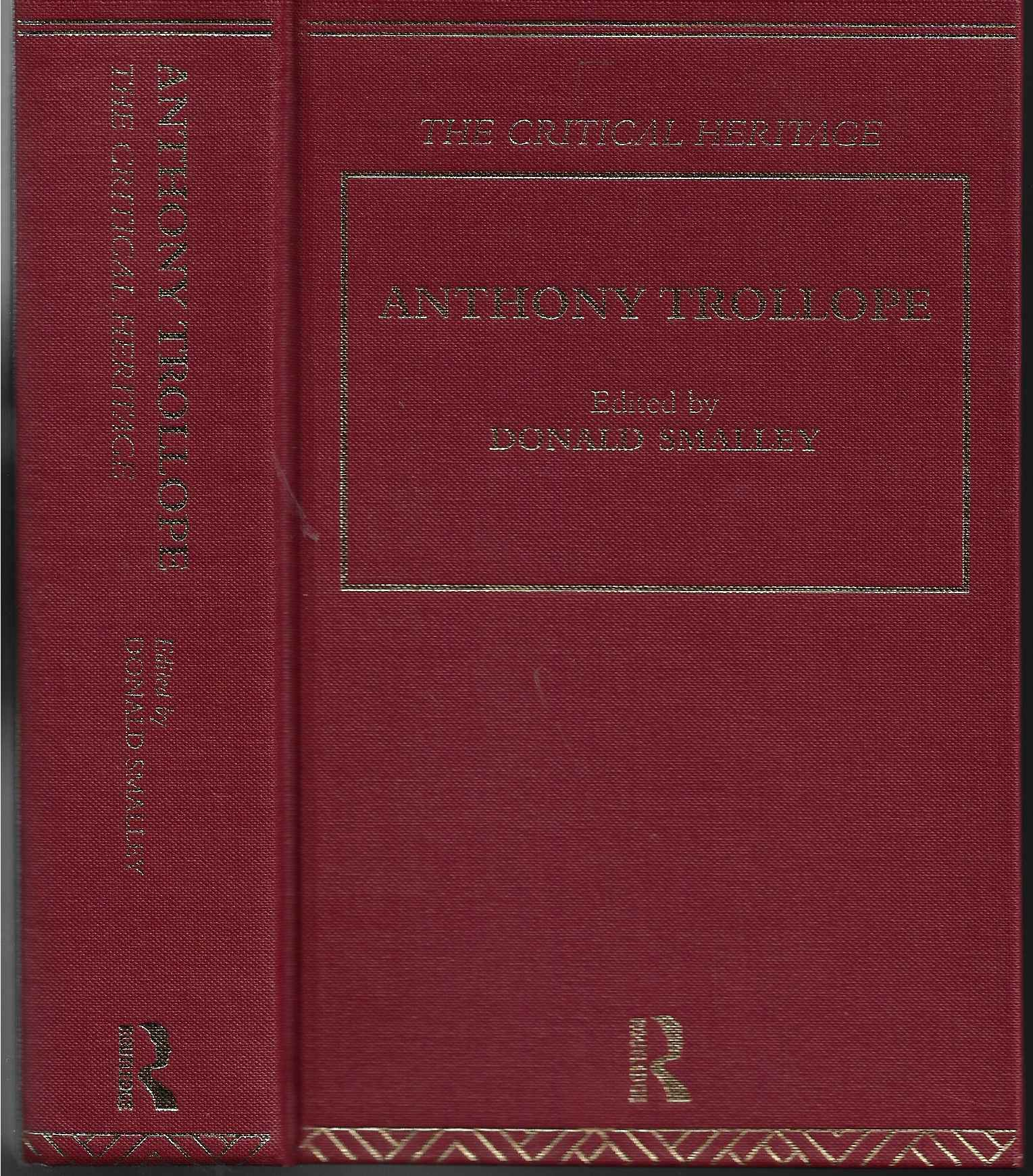 Image for Anthony Trollope The Critical Heritage