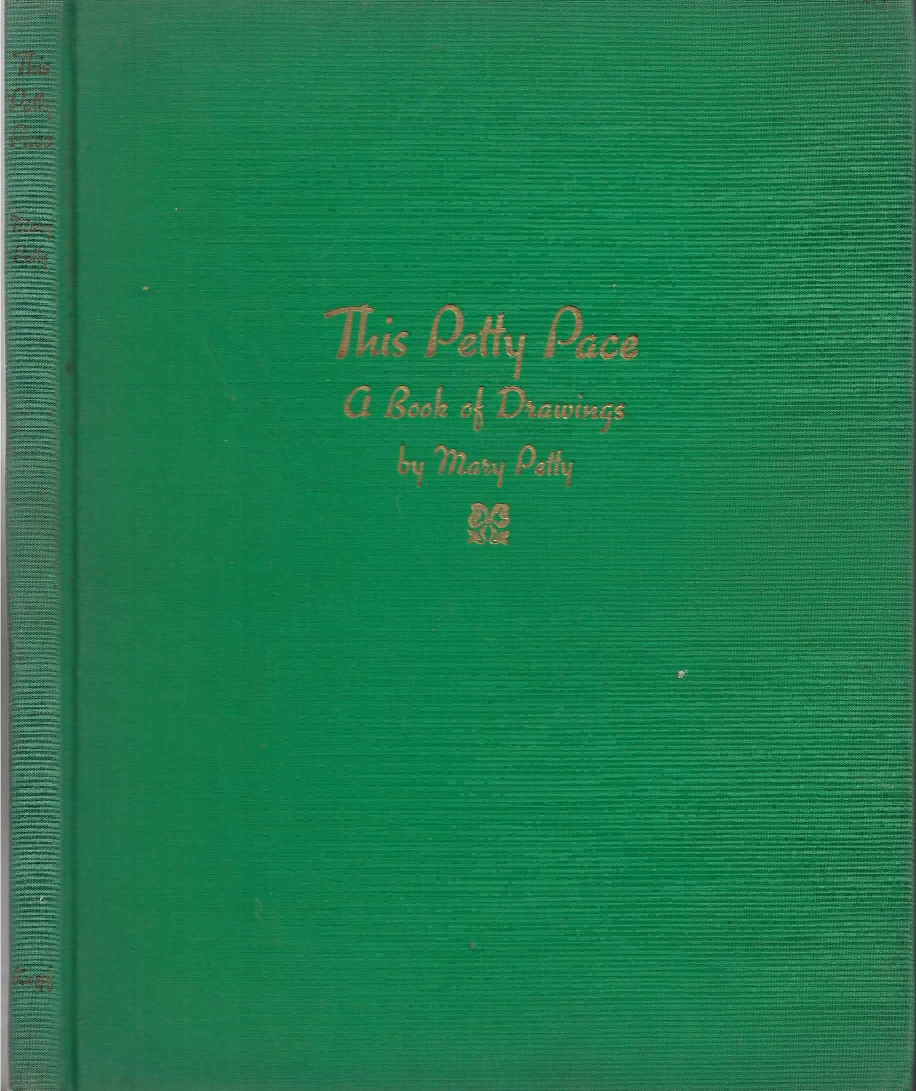 Image for THE PETTY PLACE A BOOK of DRAWINGS.