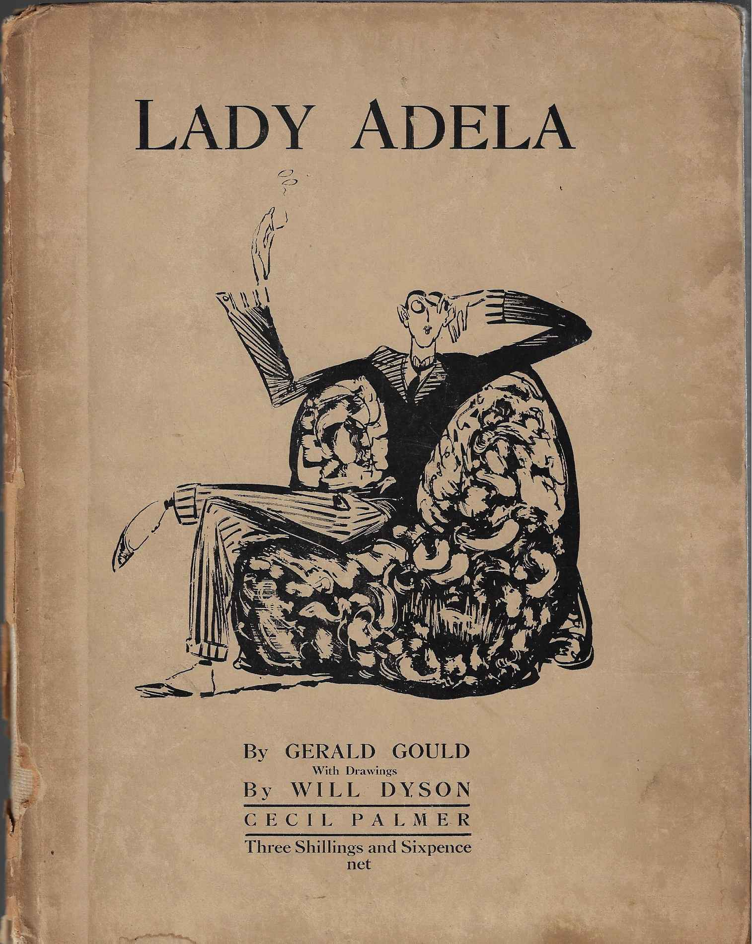 Image for Lady Adela With Drawings by Will Dyson