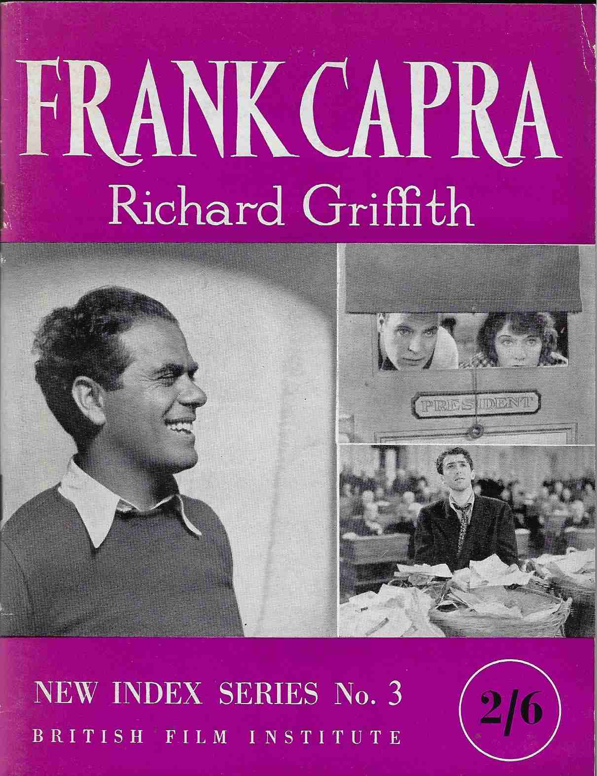 Image for Frank Capra New Index Series No. 3