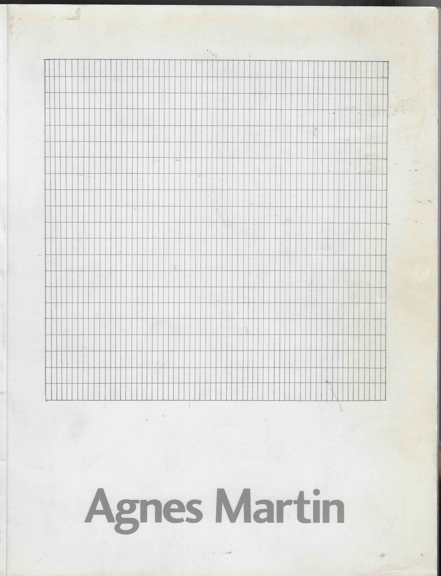 Image for Agnes Martin Paintings and Drawings 1977-1991