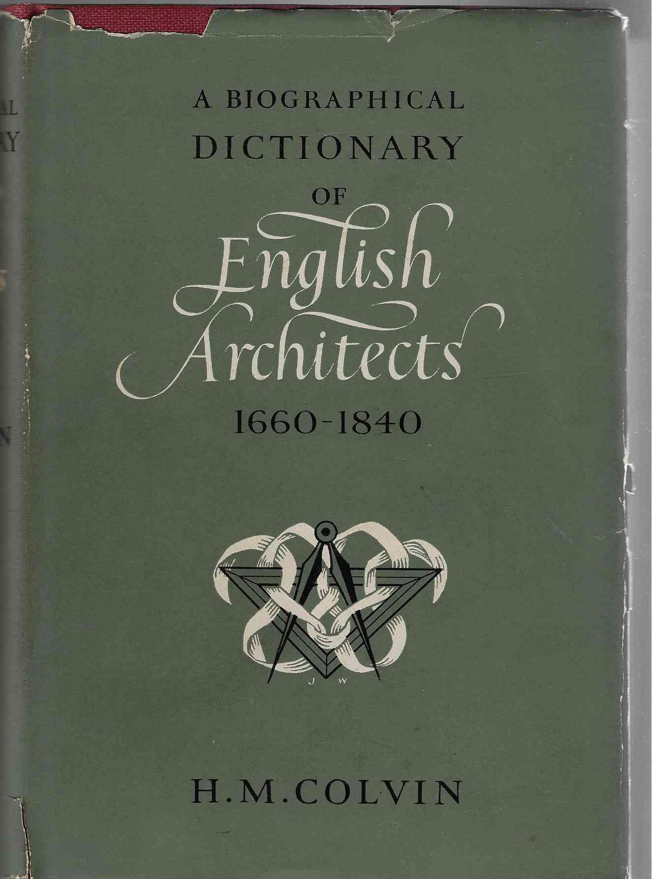 Image for Biographical Dictionary of English Architects, 1660-1840
